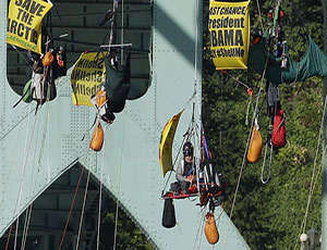��� �� ������ ������������ ������� Greenpeace / ��������� ����������� �� $2500 �� ������ ��� ������� �������� Shell  � ������ ����� �����