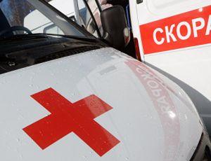 На Сахалине в ДТП с машиной скорой помощи погибли пять человек (ВИДЕО) / Автомобиль сгорел