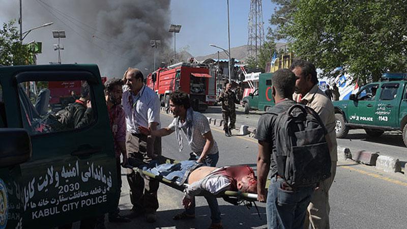 При взрыве упосольства Германии вКабуле погибли десятки человек