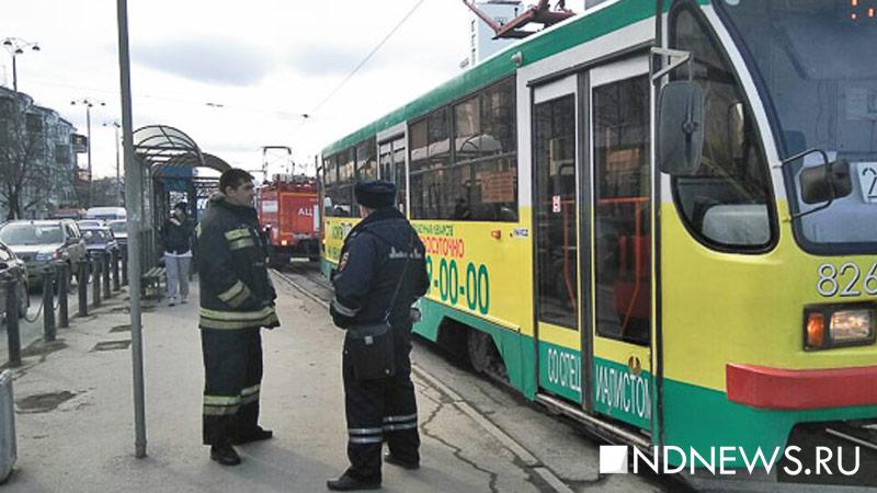ВЕкатеринбурге безбилетный пассажир выкинул кондуктора изтрамвая
