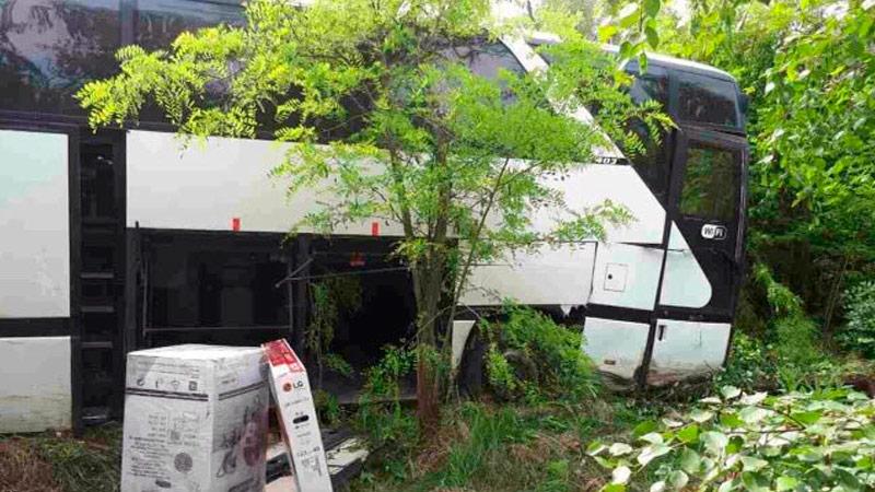 Ереван: Три человека пострадали вДТП срейсовым автобусом Москва