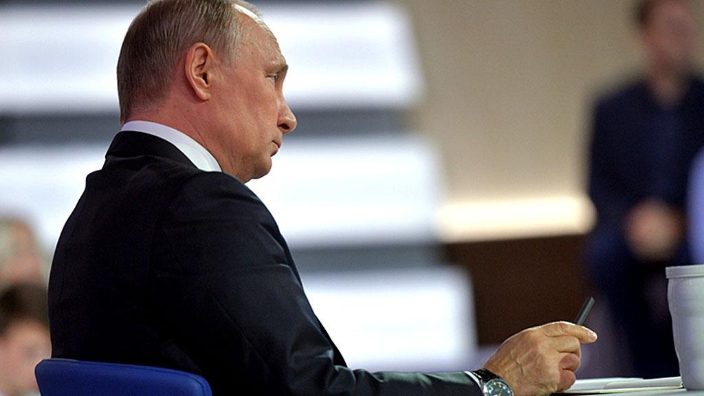 Путин прокомментировал протестные акции в столицеРФ