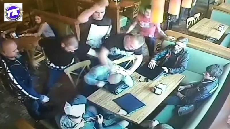 Привет, 90-е: жестокая драка вкафе вЕкатеринбурге угодила навидео