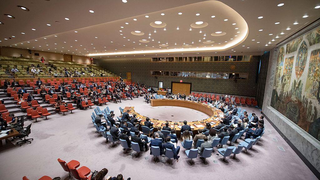 В ООН осудили решение США по лишению аккредитации российских СМИ