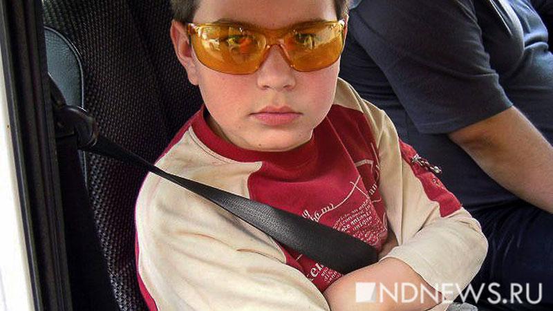 Курганские правоохранители провели спецоперацию «Детское автокресло»