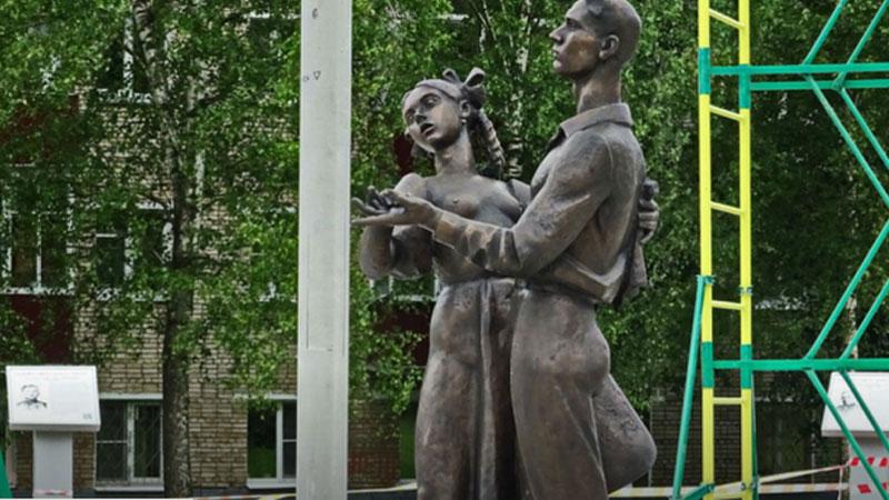 Возмутивший граждан Сергиева Посада монумент отправили надоработку