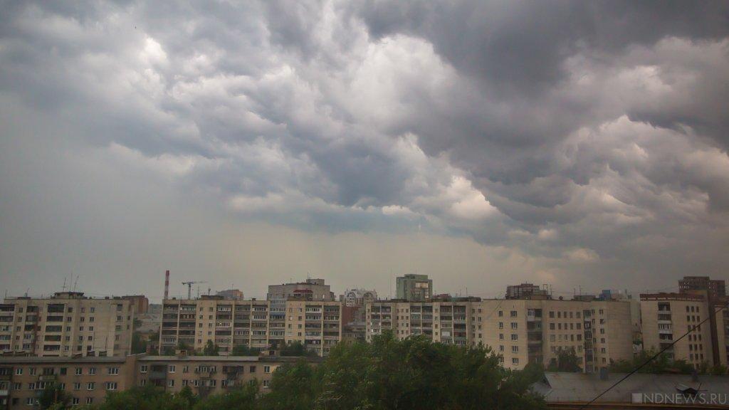 Штормовое предупреждение снова объявили вРостовской области