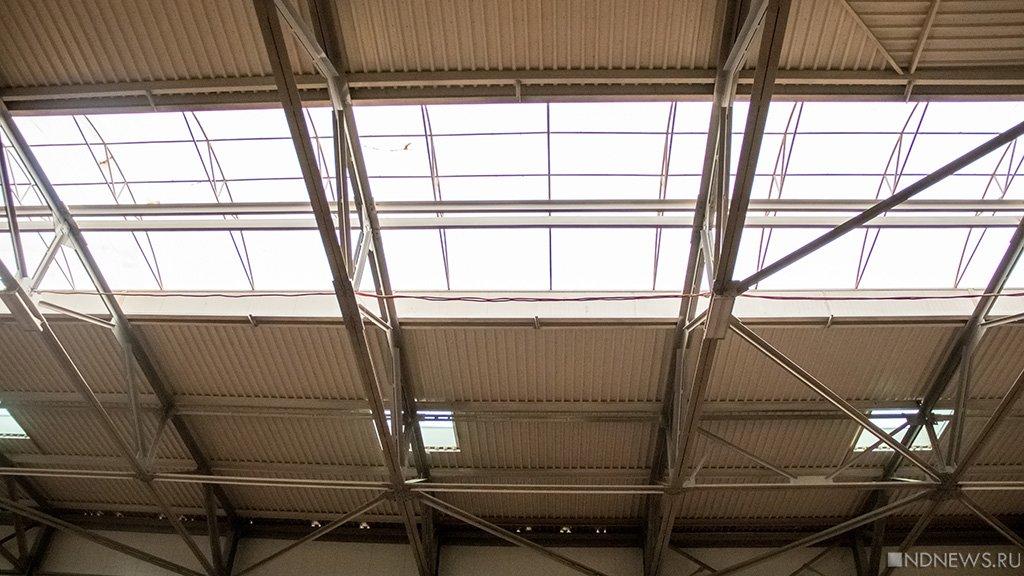 ВАрмянске назаводе «Титан» обвалилась крыша