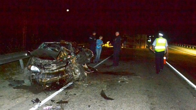 НаСеровском тракте перевернулась «Лада Гранта»: пострадали 4 человека