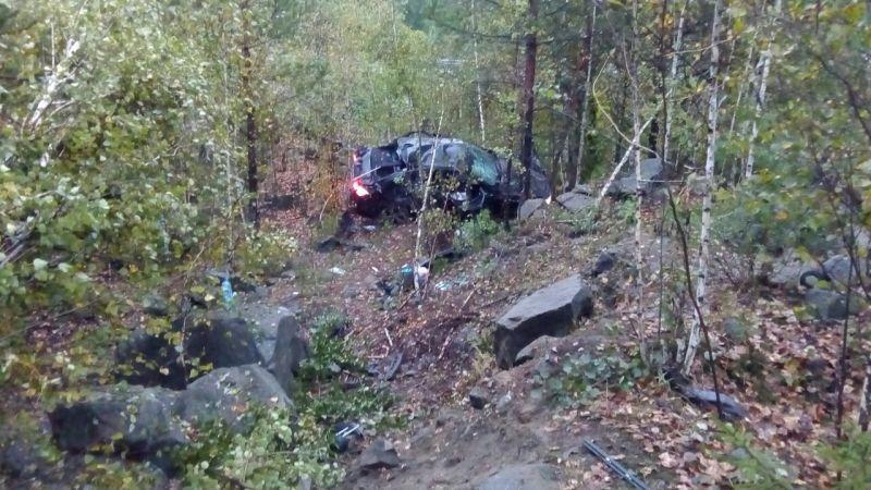 Ночью вДТП наСеровском тракте погибло два человека