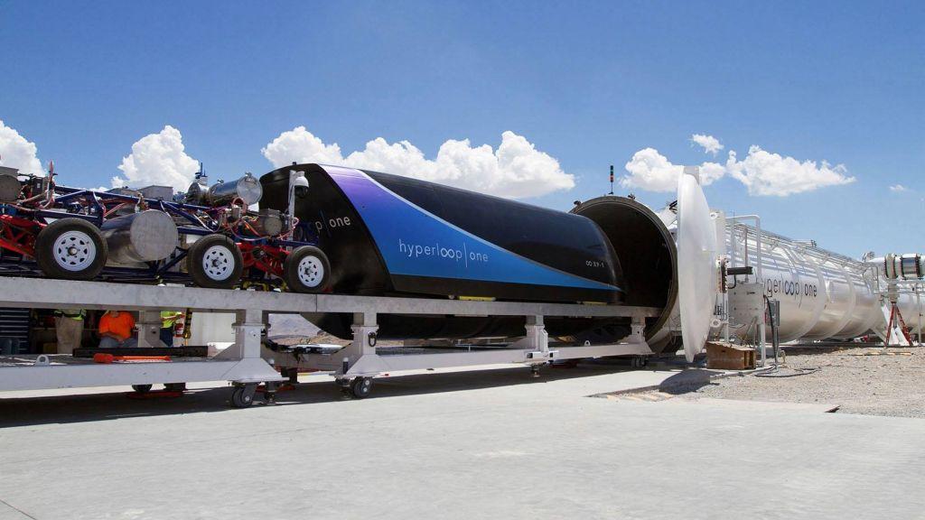 Новый вид транспорта Virgin Hyperloop разгонали до387 км/ч
