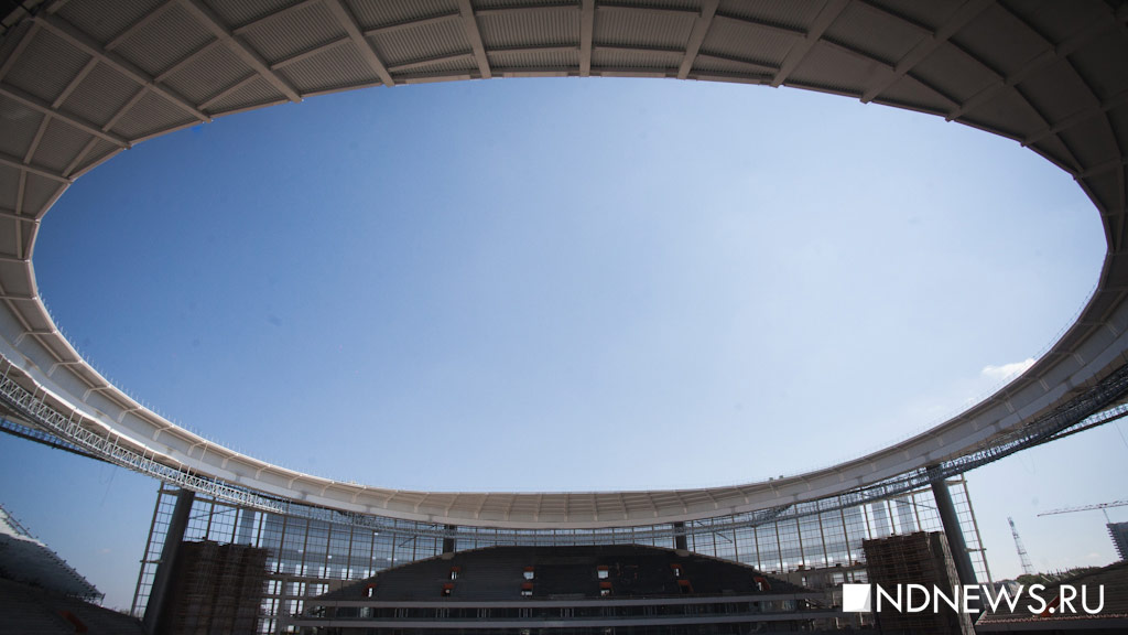 FIFA приедет вЕкатеринбург ради инспекции 27сентября