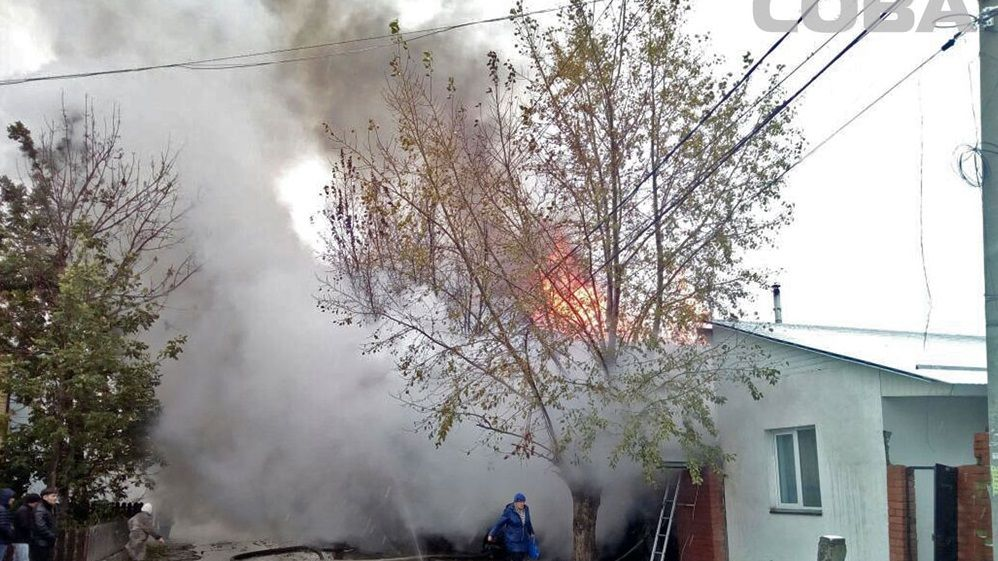 В личном доме вЕкатеринбурге произошел пожар