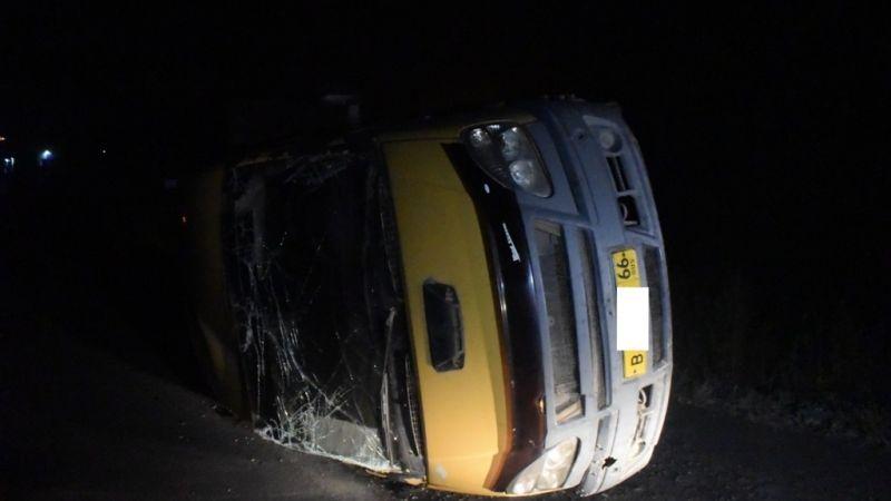 Три человека пострадали вДТП с«ГАЗелью» вЕкатеринбурге
