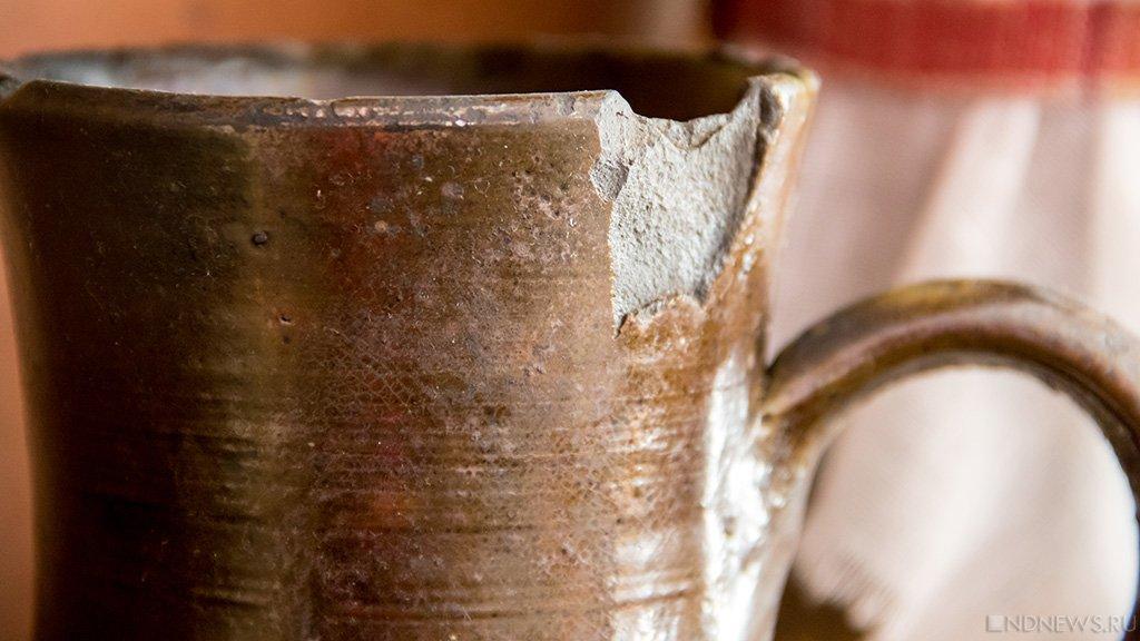 Фрагменты старинных амфор отыскали уберегов Херсонеса