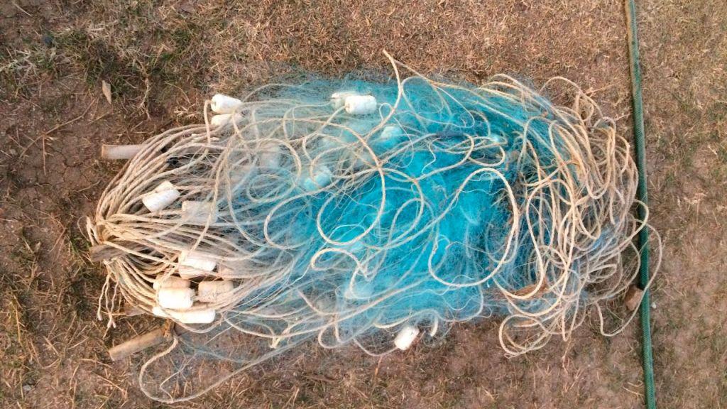 Русские таможенники отыскали уберегов Крыма украинские рыболовные сети