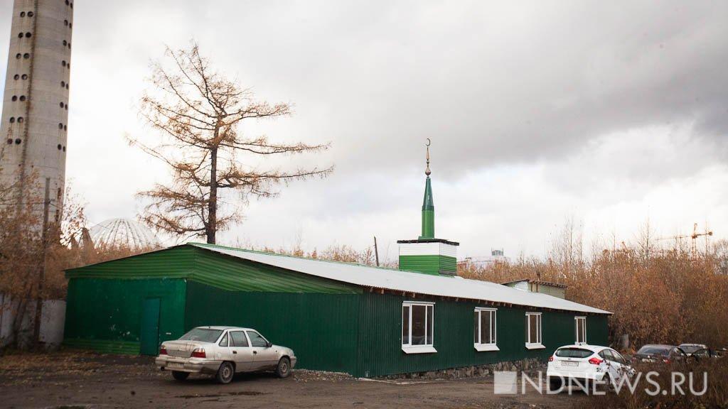 ВЕкатеринбурге хотят снести мечеть рядом снедостроенной телебашней