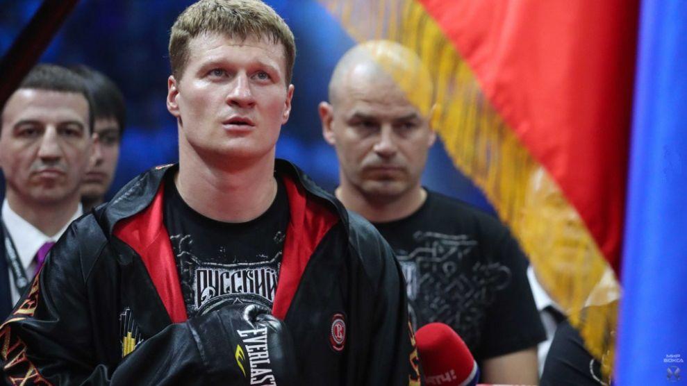Екатеринбуржец отсудил деньги заотмененный бой Поветкина