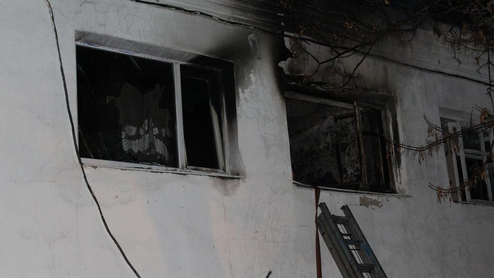 ВРеже впожаре  погибли пара пожилых людей  идворник