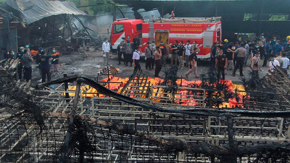 ВИндонезии— взрывы напроизводстве фейерверков: погибло 30 человек