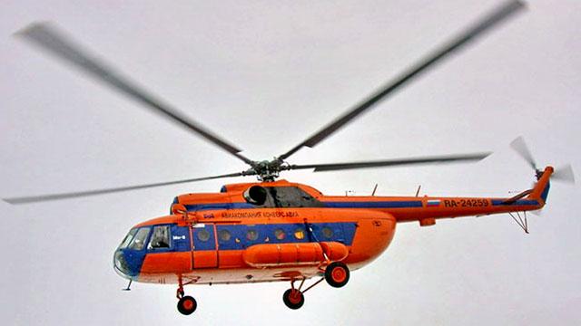 Русский вертолет потерпел крушение уберегов Шпицбергена