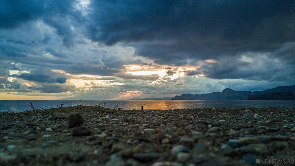 Дожди накроют Крым навыходных