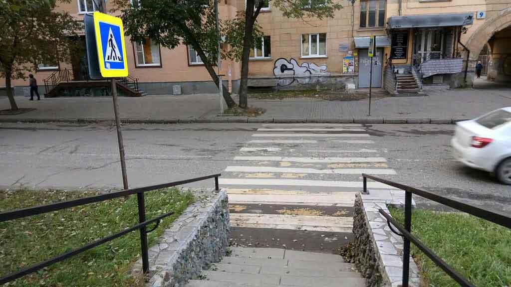 В РФ увеличен штраф занепропуск пешеходов