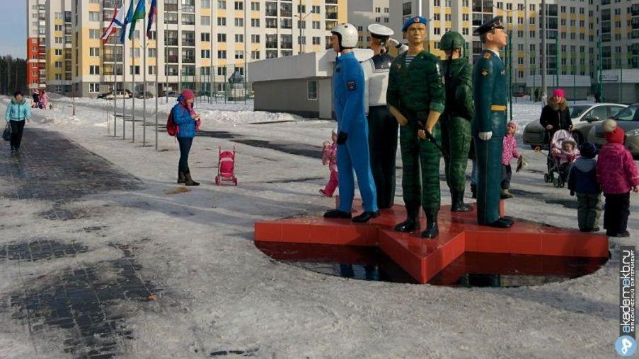 ВЕкатеринбурге будут судить братьев, укравших автомат с монумента десантникам