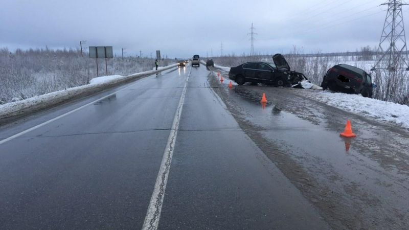 Молодой шофёр устроил смертельное ДТП натрассе Сургут— Нижневартовск