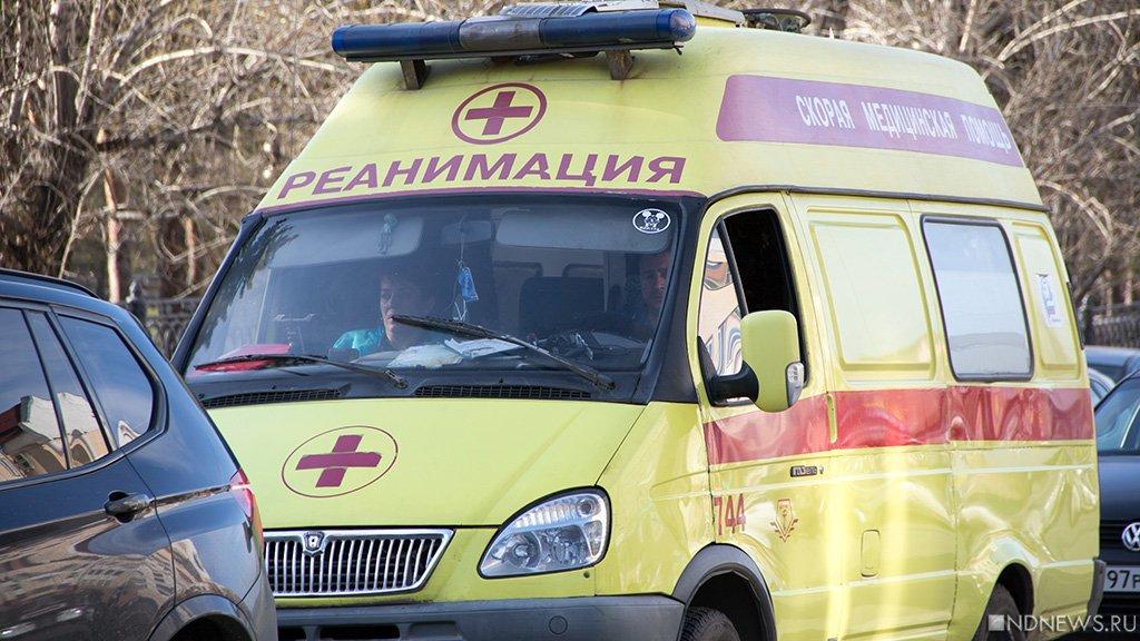 ДТП 2-х  «легковушек» ипешехода насеверо-западе Челябинска попало навидео