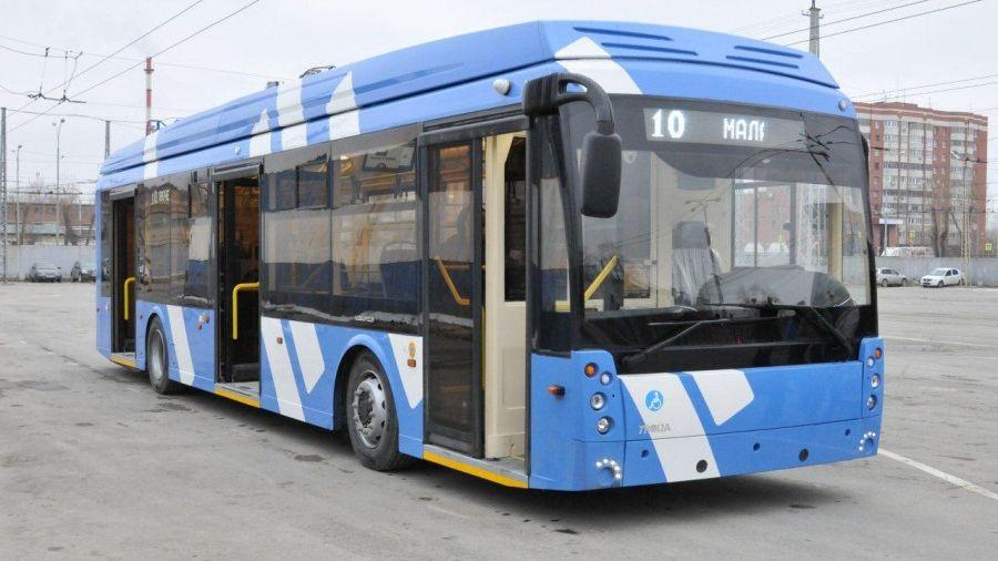 ВЕкатеринбург прибыл для исследования  1-ый  электробус