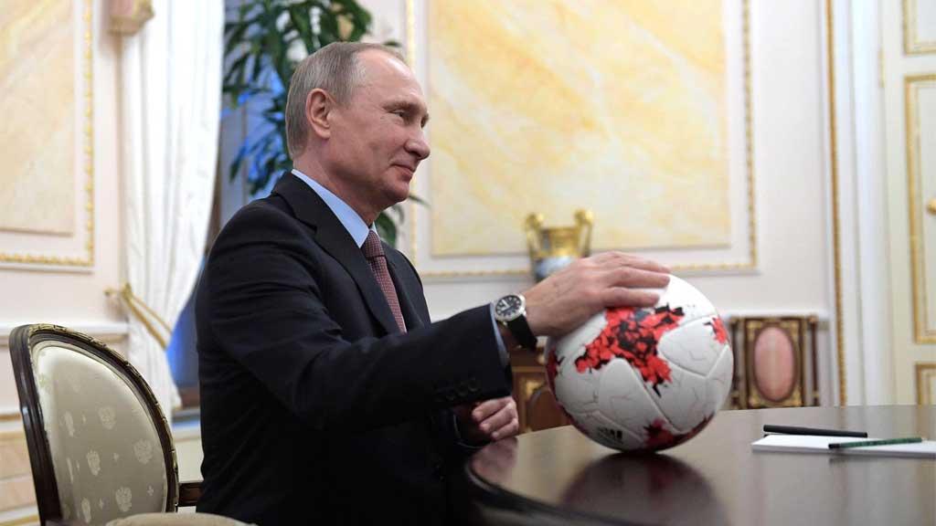 Путин может принять участие вжеребьевкеЧМ