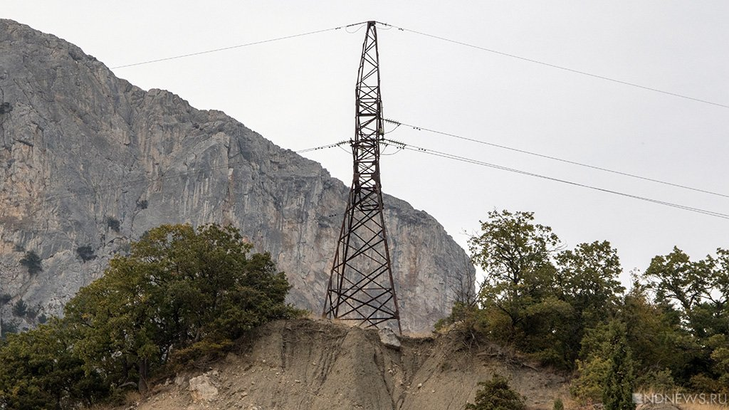 Крым заявляет онеобходимости повысить мощность станций повыробатыванию электричества