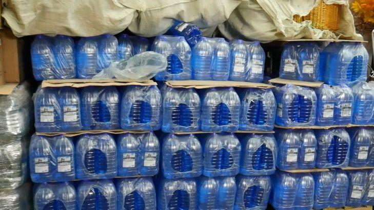 ВЧелябинской области полицейские изъяли больше 18 тонн поддельной «незамерзайки»