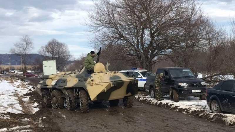 ВДагестане впроцессе КТО уничтожили главаря «балаханинских» боевиков