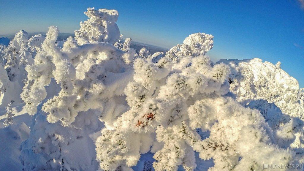 НаЧелябинскую область надвигаются рождественские морозы