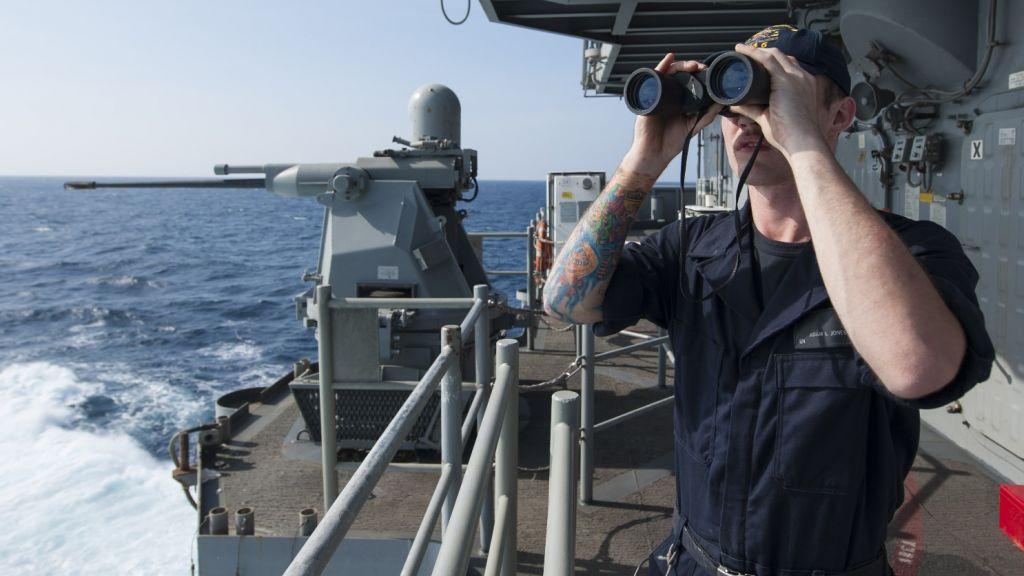 Ударная группа ВМС США во главе с «Гарри Трумэном» вернулась в Средиземное море