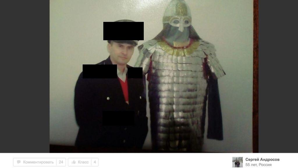 Блогер нашел свердловского силовика, который любит сниматься в нацистской форме (ФОТО)