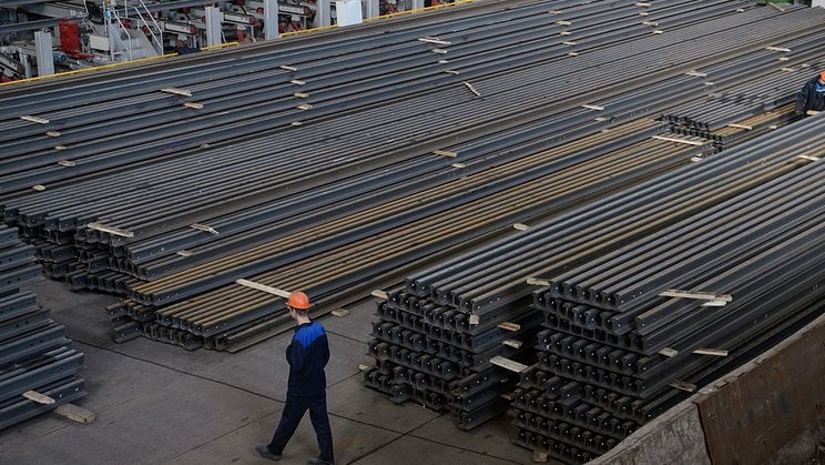 Украина ввела пошлины на строительный прокат из России