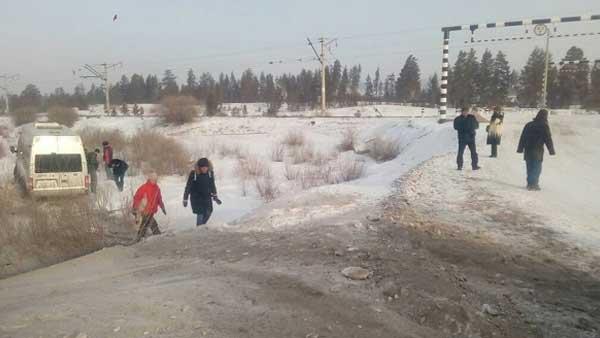 ВДТП смикроавтобусом пострадали репортеры бурятских СМИ