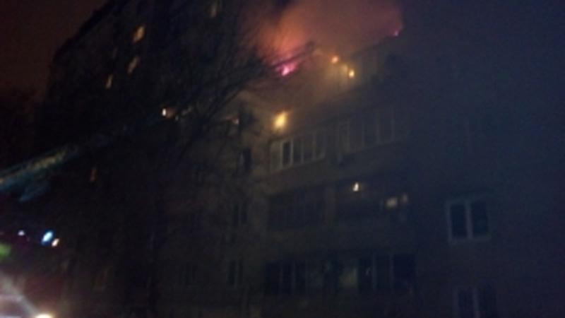 Впострадавшем отвзрыва ростовском доме наканунеЧП была утечка газа