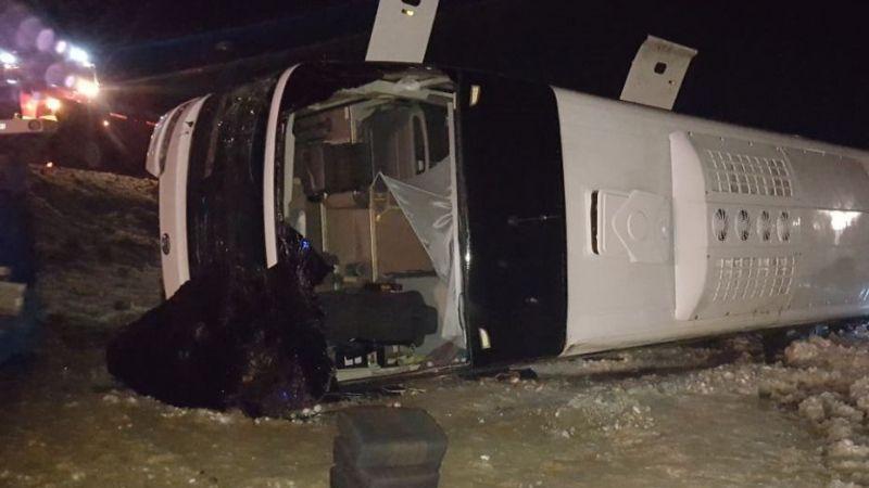 Рейсовый автобус вылетел с трассы под Ростовом-на-Дону: 4 погибших, 14 человек получили травмы