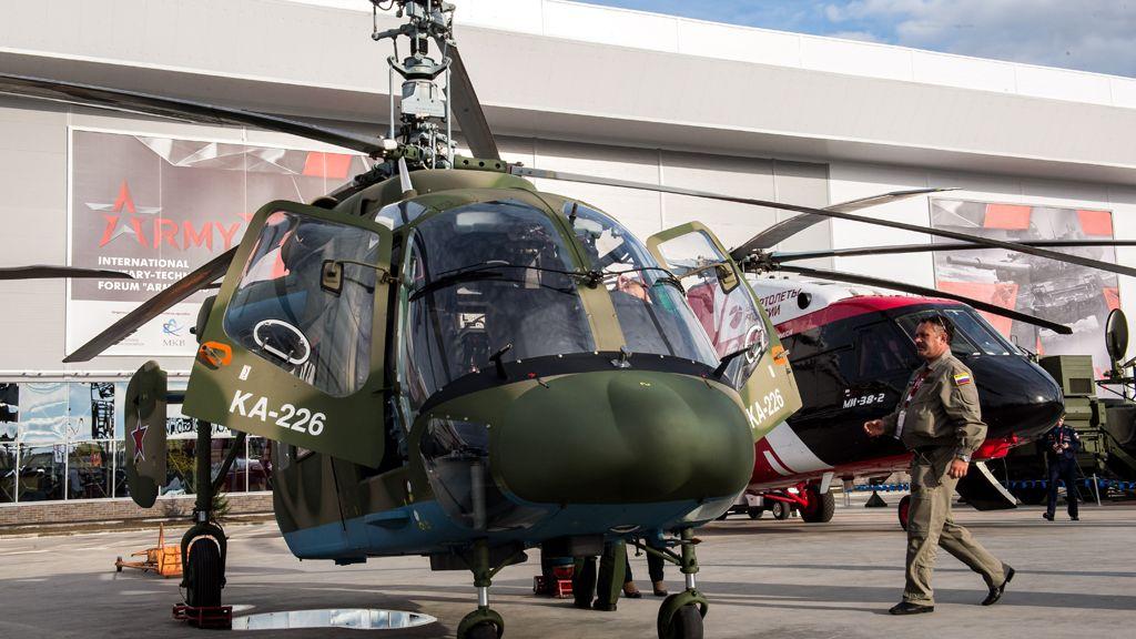 В России стартовали испытания беспилотного вертолета