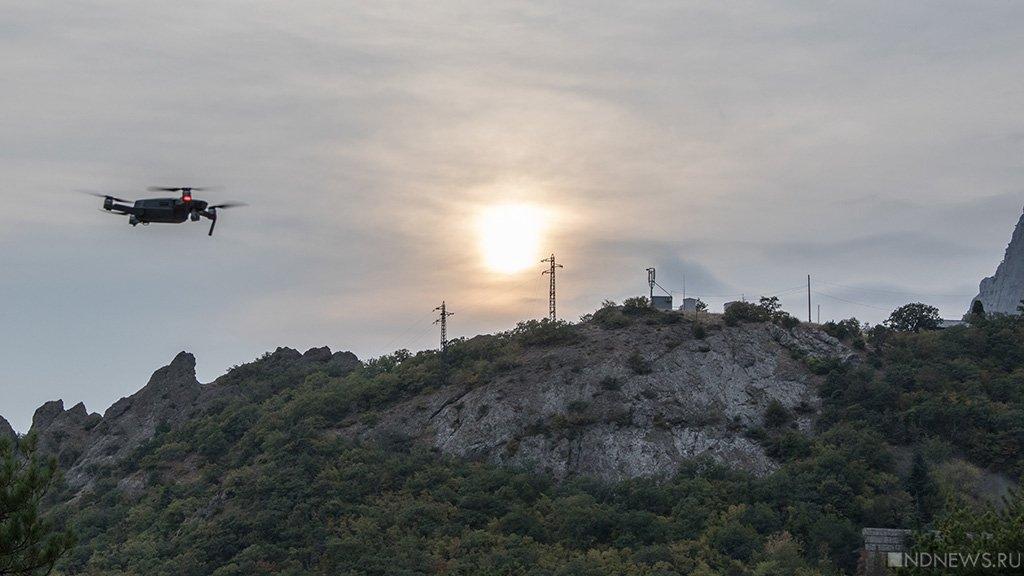 Беспилотник США провел разведку наДонбассе ивКрыму