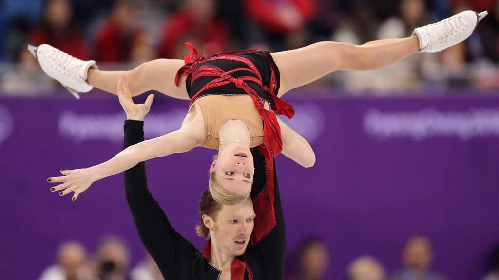 Россия на пути к очередной олимпийской медали: дуэт фигуристов стал вторым в короткой программе