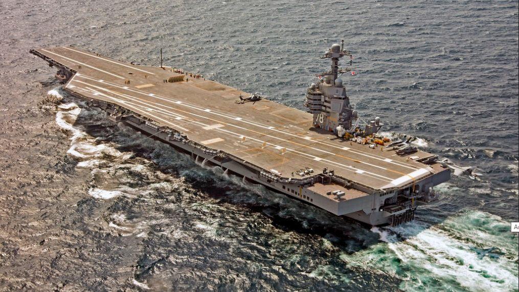Новейший суперавианосец США оказался бесполезен для выполнения боевых задач