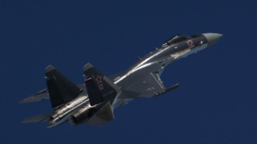 В Сирии засветился новейший российский истребитель (ВИДЕО)