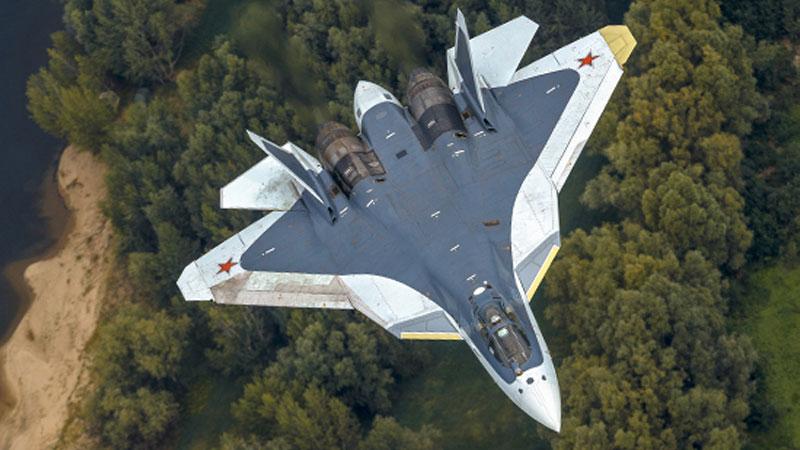 Минобороны перебросило в Сирию 4 новейших истребителя Су-57 из 12 построенных