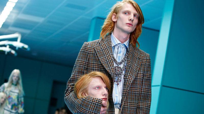 Известный модный дом выпустил на подиум моделей с «оторванными» головами