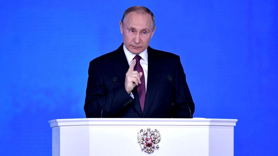 Как отреагирует Америка на «Кузькину мать» Путина? / Опрос на сайте РИА «Новый День»